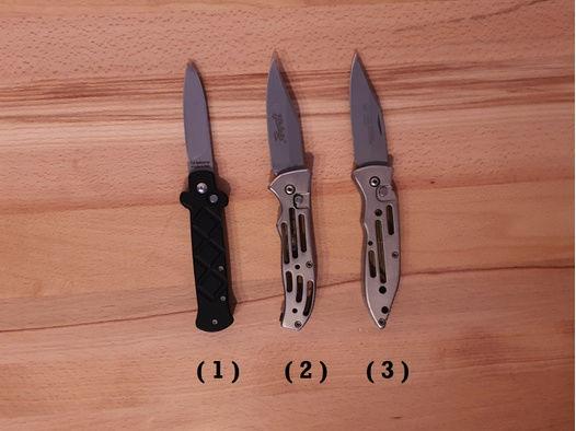 3 Springmesser von BELTRAME, Herbertz & Puma