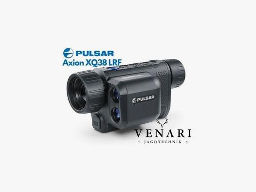 Pulsar Axion XQ38 LRF inkl. Zusatzakku | Wärmebildkamera für die Jagd mit Laser Entfernungsmesser