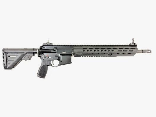 """H&K MR223 A3 mit 16,5"""" Lauf und langer Slim Line Handschutz"""