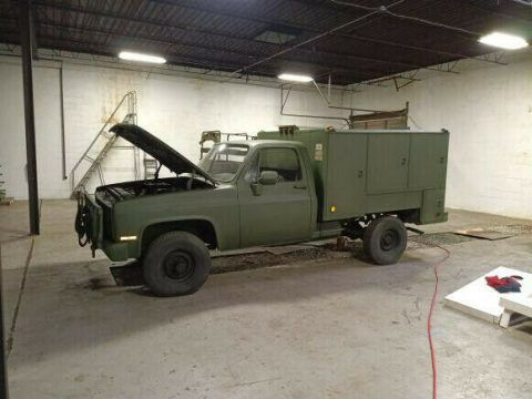 1985 Chevrolet Military M1008 4×4 1 Ton Truck for sale