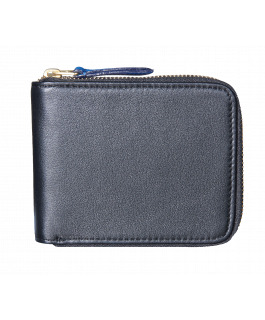 Black & Blue Zip Wallet