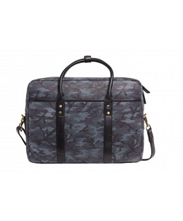 The Prague Camo Satchel