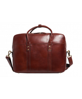 The Prague Tan Satchel