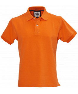 The Portland Polo - Orange