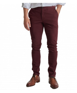The Charlie Chino - Burgundy