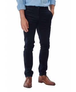 The Carter Cord Pants - Navy
