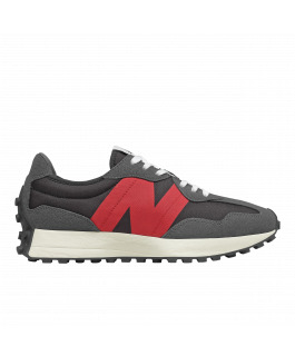 New Balance 327 - Grey & Red