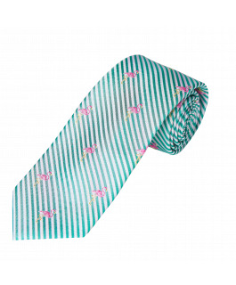 The Flamenco Silk Tie