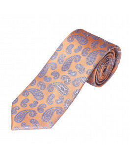 The Saturn Silk Tie