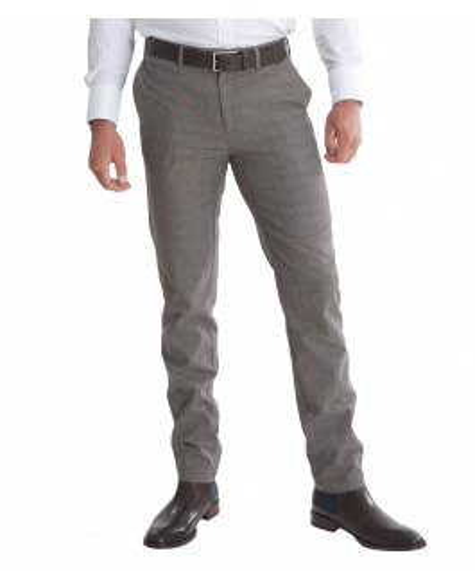 The Huxton Pant - Grey Check