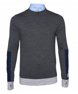 Charcoal Crew Neck Jersey