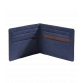 Navy Leather Wallet Wallets