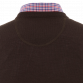 The Moretti Brown V-Neck Merino Jerseys