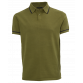 The Paxton Knit Polo - Army Green Jerseys Green