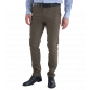 The Huxton Pant - Chestnut Trousers Brown