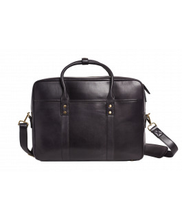 The Prague Black Satchel