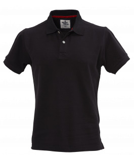 The Portland Polo - Black
