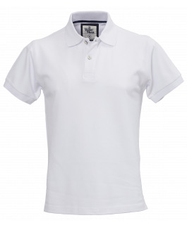The Portland Polo - White