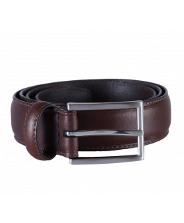 Brown Stitch Leather Belt