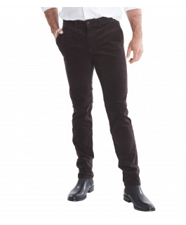 The Carter Cord Pant - Charcoal
