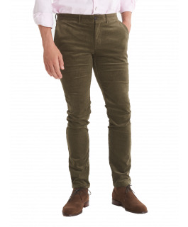 The Carter Cord Pant - Army Green
