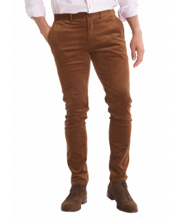 The Carter Cord Pant - Tobacco