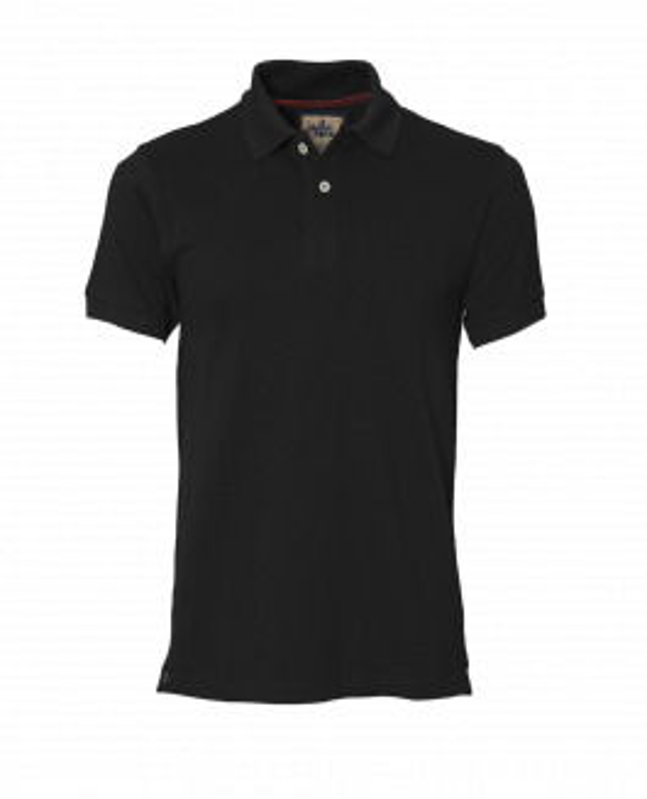 The Portland Polo - Black
