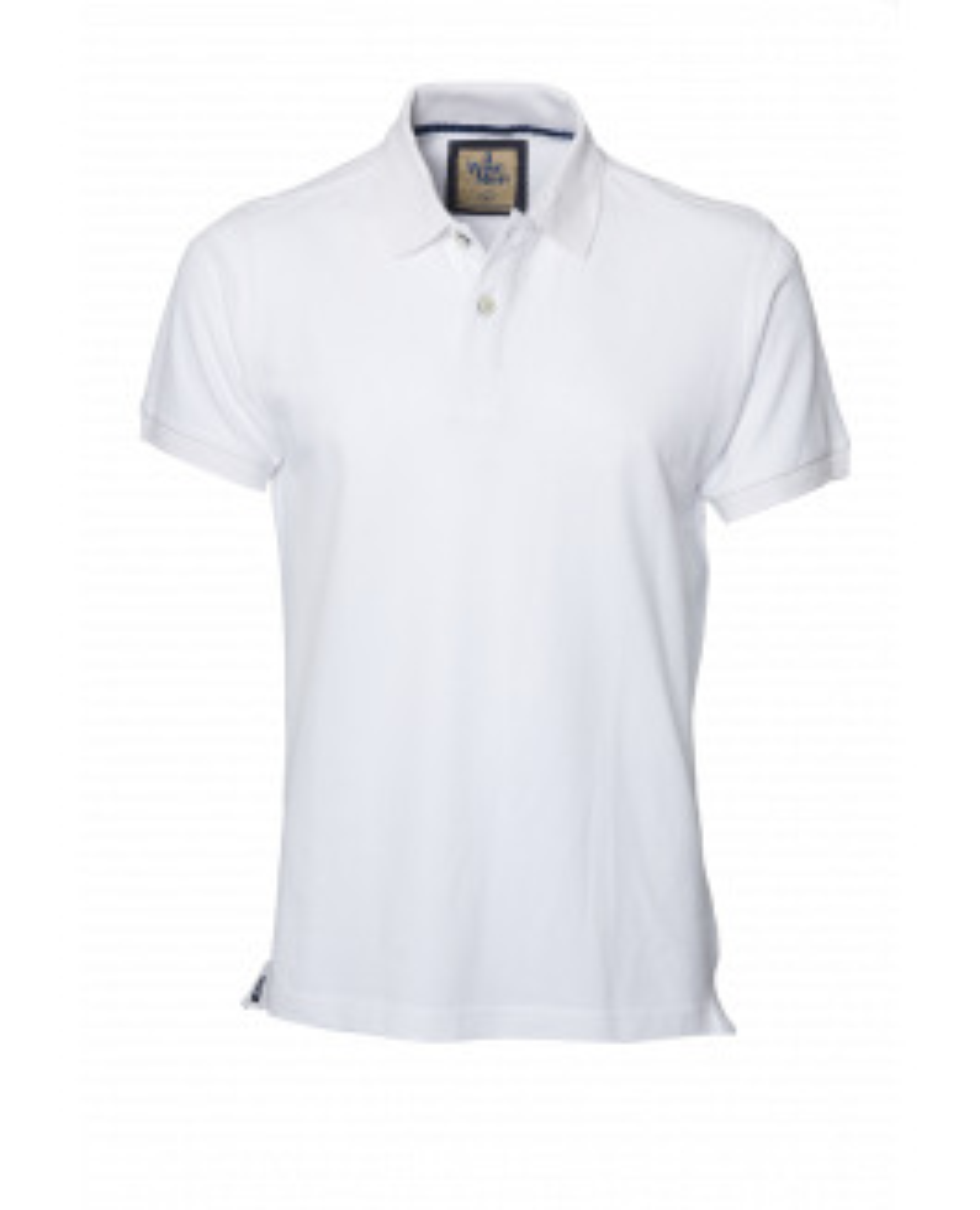The Portland Polo - White