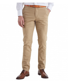 The Huxton Pant - Tan