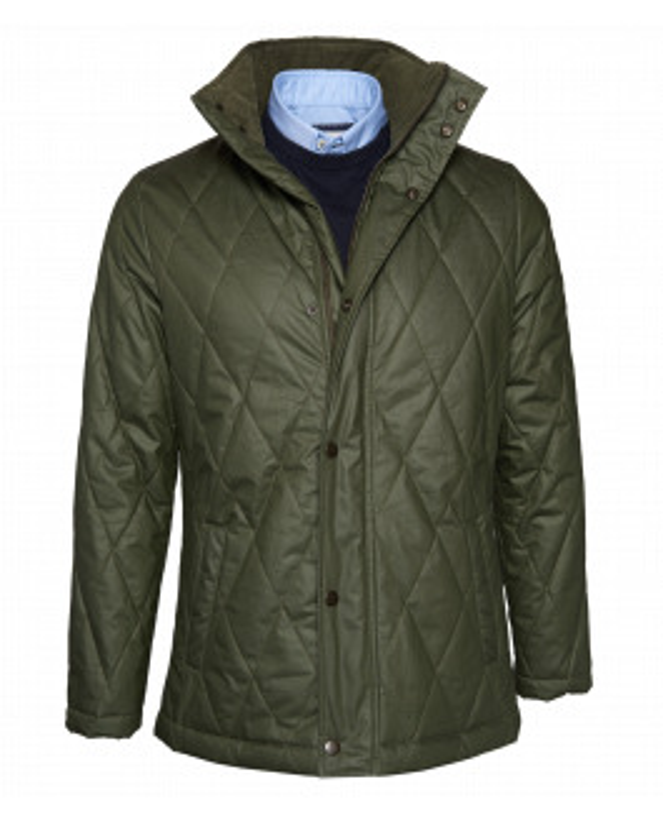 Khaki Waxed Cotton Jacket