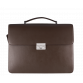 The Berlin Brown Briefcase Bags