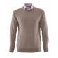 The Moretti Camel Crew Merino Jerseys Brown