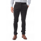 The Carter Cord Pant - Charcoal Trousers Grey