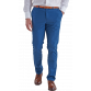 The Huxton Pant - Airforce Blue Trousers Blue