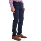 The Huxton Pant - Navy Trousers Blue
