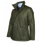 Khaki Waxed Cotton Jacket Coats Green