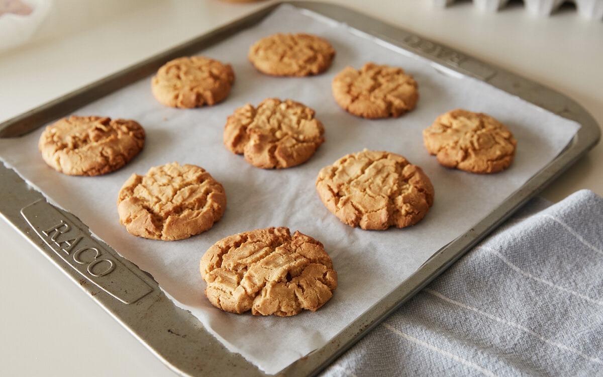 Fiona's Never Fail Peanut Butter Cookies