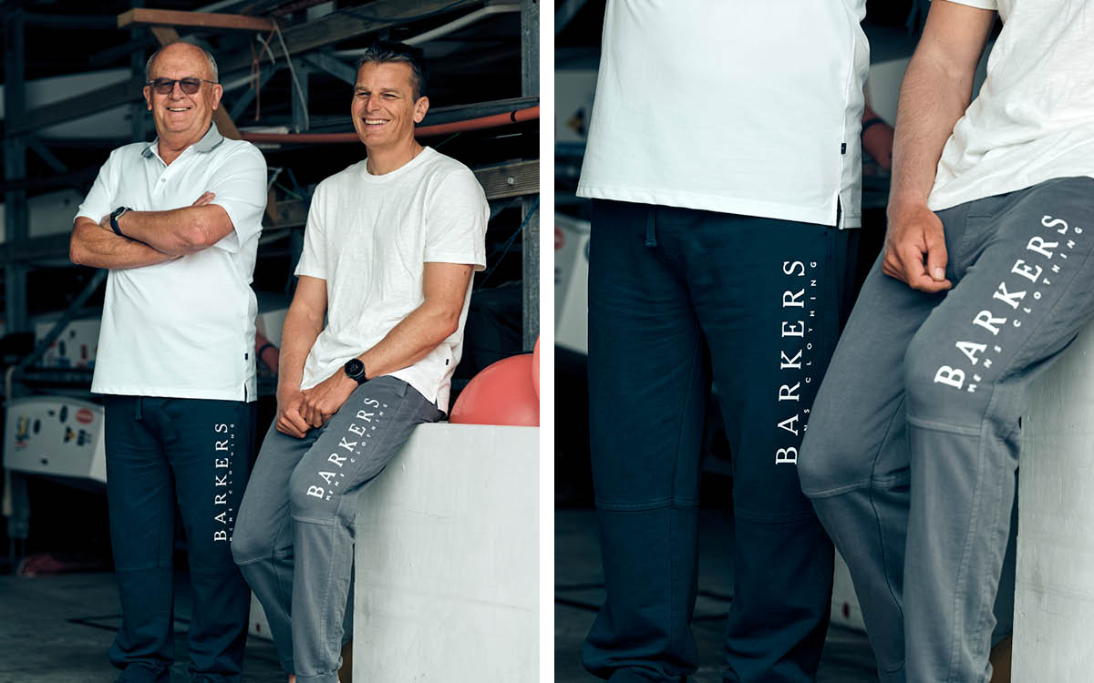 MADE OF LEGENDS: Barkers Track Pants