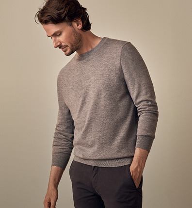 Merino Knitwear and Chino for $200