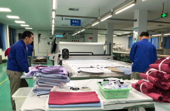 Our Shirt Factory: Luthai Textile Co