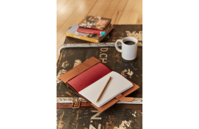 Parisian Nz Leather A5 Notebook