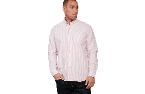 Marcy Oxford Stripe Shirt C