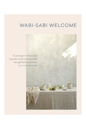 Wabi-Sabi Welcome Book