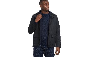 Wiley Waxed Cotton Parka