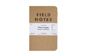3 Pack Notebooks Plain