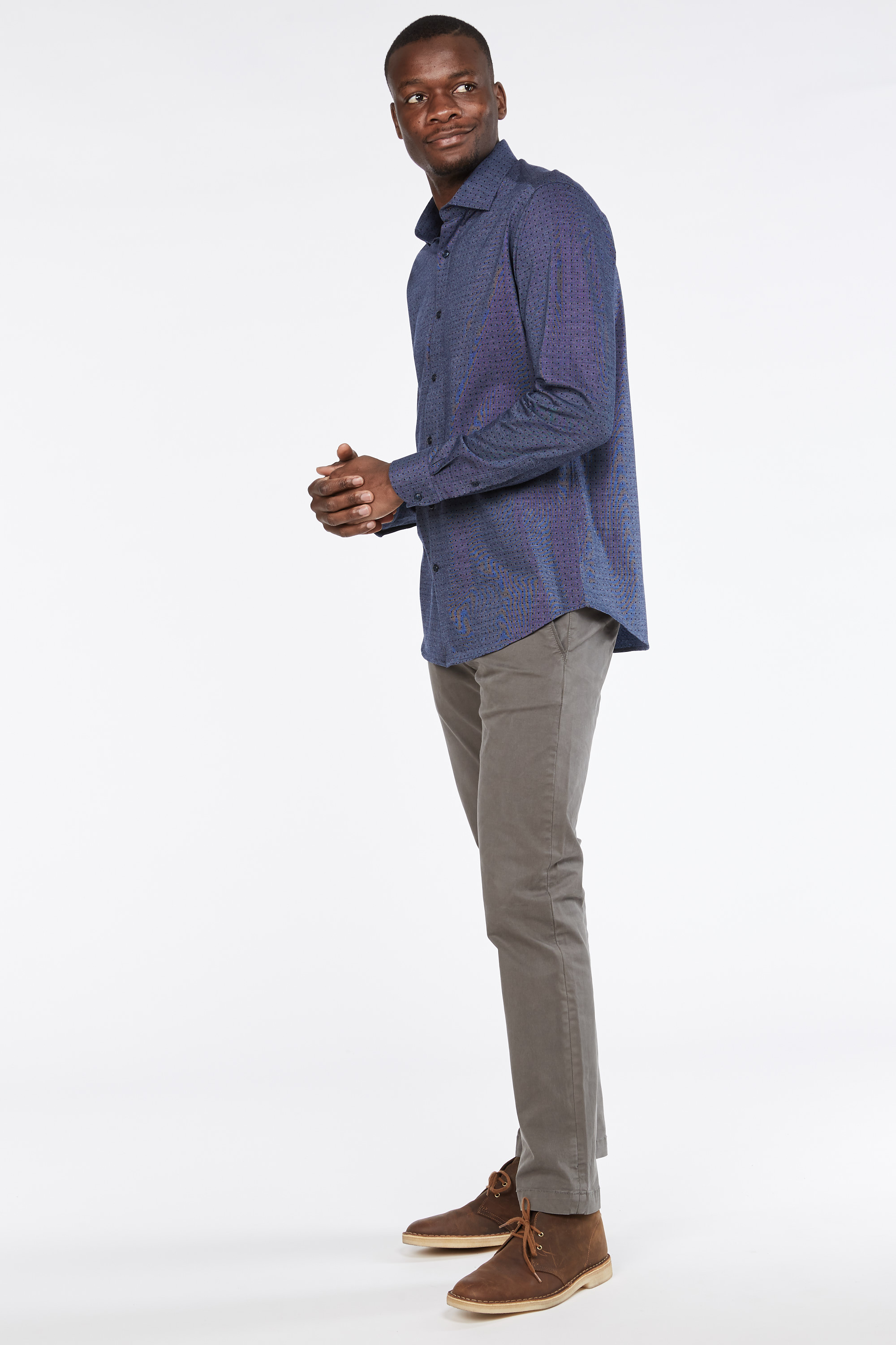 Falwell Dot Knit Shirt