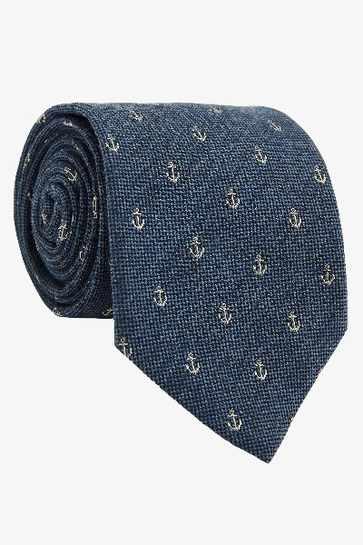 Hubbard Embroidered Tie