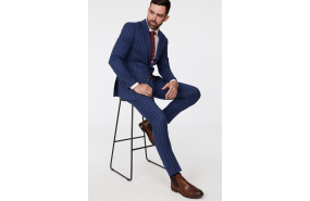 Paxton Stripe Suit Trouser