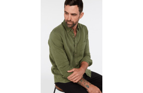 Alderman French Linen Shirt