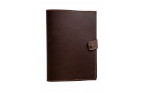Parisian Leather A5 Notebook